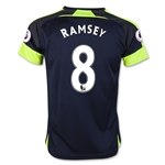 Arsenal 16/17  8 RAMSEY Youth Third Soccer Jersey