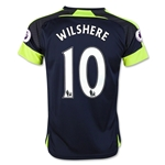 Arsenal 16/17 10 WILSHERE Youth Third Soccer Jersey