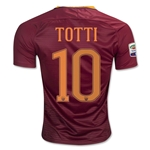 AS Roma 16/17 TOTTI Home Soccer Jersey
