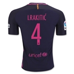 Barcelona 16/17 I. RAKITIC Authentic Away Soccer Jersey