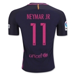 Barcelona 16/17 NEYMAR JR Authentic Away Soccer Jersey