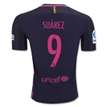 Barcelona 16/17 SUAREZ Authentic Away Soccer Jersey