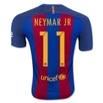 Barcelona 16/17 NEYMAR JR Authentic Home Soccer Jersey