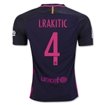 Barcelona 16/17 I. RAKITIC Away Soccer Jersey
