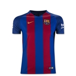 Barcelona 16/17 Youth Home Soccer Jersey