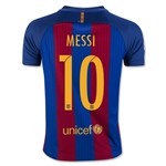 Barcelona 16/17 MESSI Youth Home Soccer Jersey