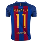 Barcelona 16/17 NEYMAR JR Youth Home Soccer Jersey