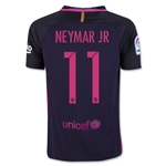Barcelona 16/17 NEYMAR JR Youth Away Soccer Jersey