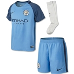 Manchester City 16/17 Kids Home Kit