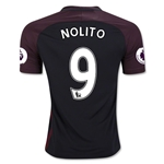 Manchester City 16/17 NOLITO Away Soccer Jersey