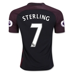Manchester City 16/17 STERLING Away Soccer Jersey