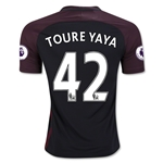 Manchester City 16/17 TOURE YAYA Away Soccer Jersey