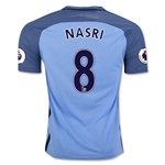Manchester City 16/17 NASRI Home Soccer Jersey