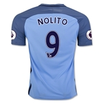Manchester City 16/17 NOLITO Home Soccer Jersey