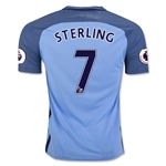 Manchester City 16/17 STERLING Home Soccer Jersey