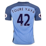 Manchester City 16/17 TOURE YAYA Home Soccer Jersey
