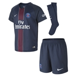 Paris Saint-Germain 16/17 Little Boys Home Kit