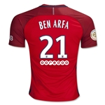 Paris Saint-Germain 16/17 BEN ARFA Away Soccer Jersey