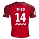 Paris Saint-Germain 16/17 MATUIDI Away Soccer Jersey