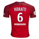 Paris Saint-Germain 16/17 VERRATTI Away Soccer Jersey