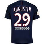 Paris Saint-Germain 16/17 AUGUSTIN Home Soccer Jersey