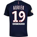 Paris Saint-Germain 16/17 AURIER Home Soccer Jersey