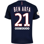 Paris Saint-Germain 16/17 BEN ARFA Home Soccer Jersey