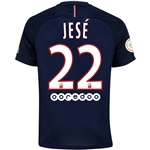 Paris Saint-Germain 16/17 JESE Home Soccer Jersey