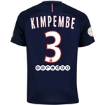 Paris Saint-Germain 16/17 KIMPEMBE Home Soccer Jersey