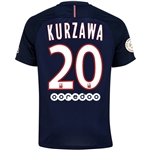 Paris Saint-Germain 16/17 KURZAWA Home Soccer Jersey