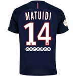 Paris Saint-Germain 16/17 MATUIDI Home Soccer Jersey