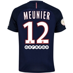 Paris Saint-Germain 16/17 MEUNIER Home Soccer Jersey