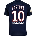 Paris Saint-Germain 16/17 PASTORE Home Soccer Jersey