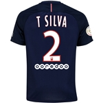 Paris Saint-Germain 16/17 T. SILVA Home Soccer Jersey