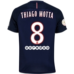 Paris Saint-Germain 16/17 THIAGO MOTTA Home Soccer Jersey