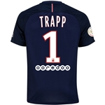 Paris Saint-Germain 16/17 TRAPP Home Soccer Jersey