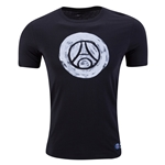 Paris-Saint Germain Crest T-Shirt (Black)