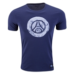 Paris-Saint Germain Crest T-Shirt (Blue)