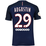 Paris Saint-Germain 16/17 AUGUSTIN Authentic Home Soccer Jersey
