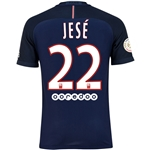 Paris Saint-Germain 16/17 JESE Authentic Home Soccer Jersey