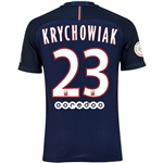 Paris Saint-Germain 16/17 KRYCHOWIAK Authentic Home Soccer Jersey