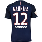 Paris Saint-Germain 16/17 MEUNIER Authentic Home Soccer Jersey