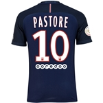 Paris Saint-Germain 16/17 PASTORE Authentic Home Soccer Jersey