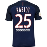 Paris Saint-Germain 16/17 RABIOT Authentic Home Soccer Jersey
