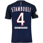 Paris Saint-Germain 16/17 STAMBOULI Authentic Home Soccer Jersey