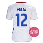 USA 16/17 PRESS Women's Home Soccer Jersey