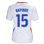 USA 16/17 RAPINOE Women's Home Soccer Jersey