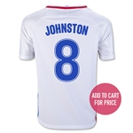 USA 2016 JOHNSTON Youth Home Soccer Jersey