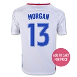 USA 2016 MORGAN Youth Home Soccer Jersey