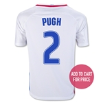 USA 2016 PUGH Youth Home Soccer Jersey